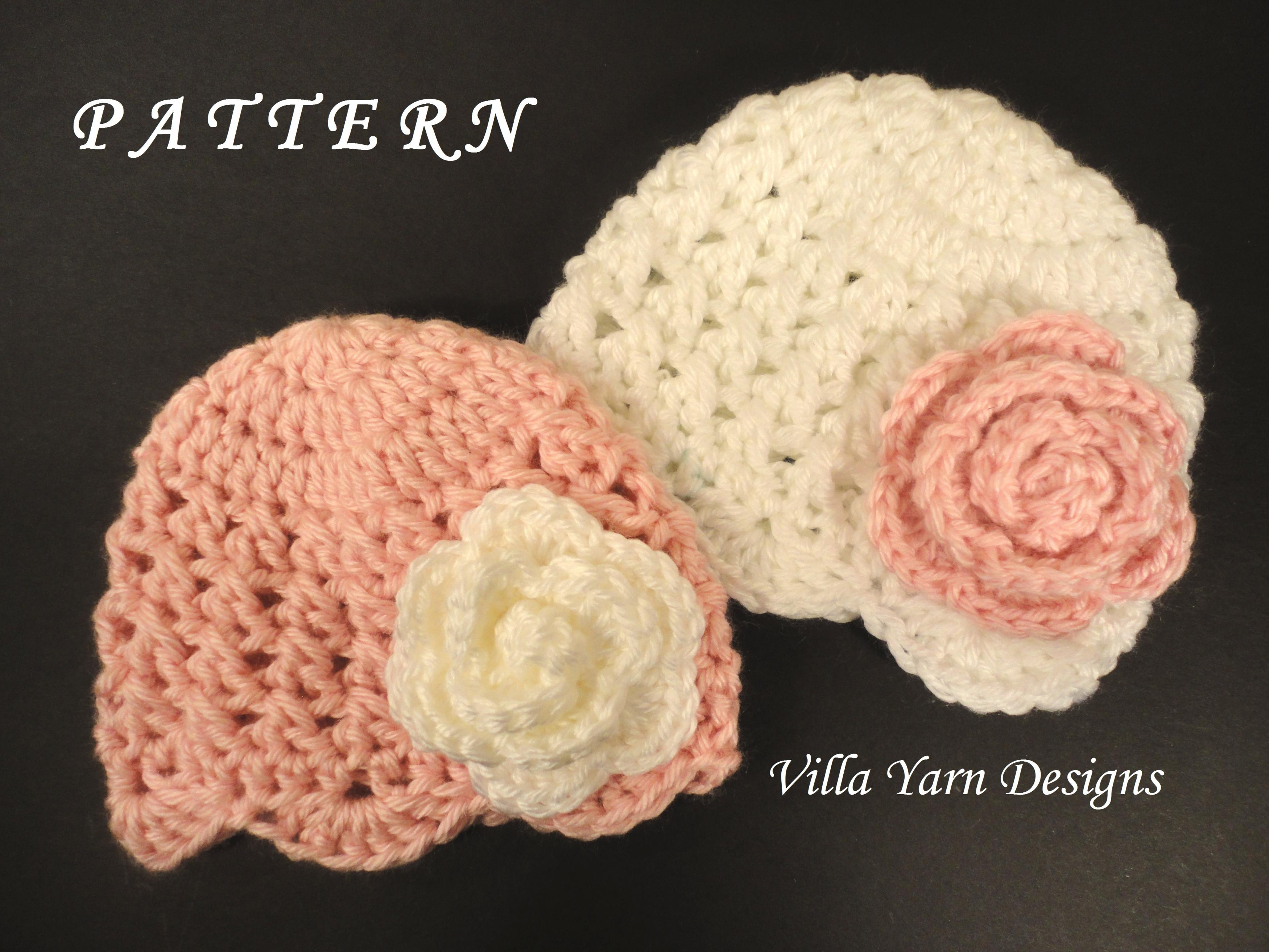 4e4be9a885f Crochet Baby Hat Pattern